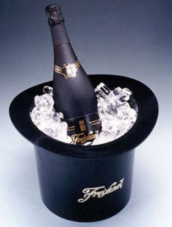 Top Hat Champagne Wine Ice Bucket Cooler / Home Bar Resturant Bistro