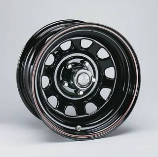 Wheel 84 Series Black Seel Dayona Wheels 16.5x12 8x6.5 BC