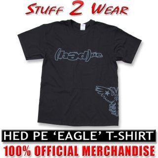 Pe  Eagle  Mens T shirt black L or XL Official NEW Planet Earth