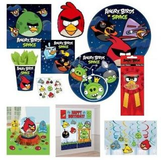 ANGRY BIRDS & ANGRY BIRDS SPACE Party Supplies ~Choose Items You Need