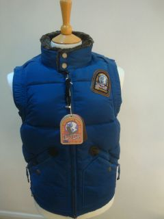PARAJUMPERS P.J.S PARA JUMPERS MAN KOBUK JACKET NEW WITH TAGS BLUE