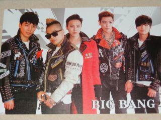 POP Korean Boy Band BIG BANG ALL Members Handsome POSTER   G