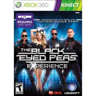 XBOX 360 KINECT THE BLACK EYED PEAS EXPERIENCE BRAND NEW VIDEO GAME
