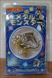 YU GI OH Red Eyes B. Black Dragon Chrome Metal Monster Toy Figure