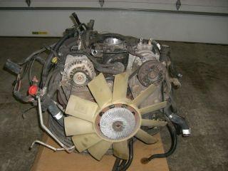 99 Chevy Blazer 4.3L Vortec Engine Motor Vin W 4x4 111K