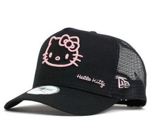 rare NEW ERA x HELLO KITTY Mesh Baseball Cap hat unisex NIB import