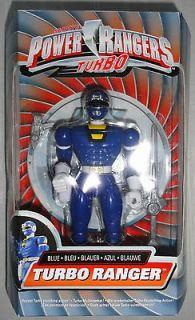 Power Rangers Turbo Blue 8 inch figure Justin NEW MISB carranger