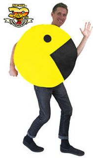 Adult 2D Pac Man Game Halloween Costume