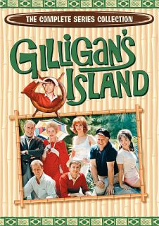 Gilligans Island The Complete Series Collection DVD, 2011, 9 Disc Set