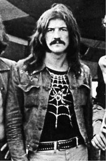 john bonham replica spider web shirt