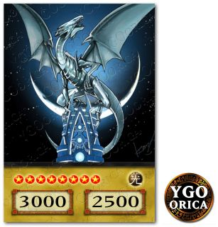 1x Blue Eyes White Dragon ♔ YuGiOh Anime TV Show Non Holo Orica