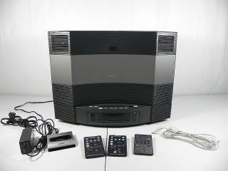 Bose Acoustic Wave Music System II & 5 Disc CD Changer & iPod Dock