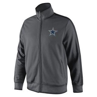 Dallas Cowboys Sideline Track Jacket N98 by Nike ADULT Charcoal NWT