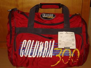 Columbia 300 Large Pro Two Ball Nylon Bowling Ball Bag Red & Black