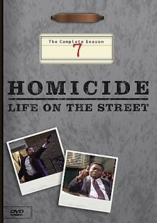 Homicide Life on the Street   The Complete Season 7 DVD, 2005, 6 Disc