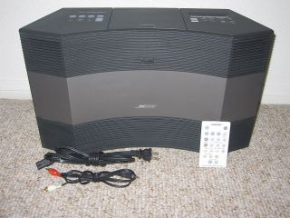 BOSE ACOUSTIC WAVE MUSIC SYSTEM II RADIO CD  PLAYER IPOD CABLE