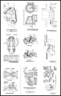 ROLLS ROYCE MERLIN (ALL MARKS) AERO ENGINE MODIFICATION LEAFLETS
