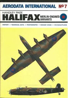 AERODATA INTERNATIONAL 7 HANDLEY PAGE HALIFAX WW2 RAF ROLLS ROYCE