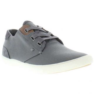 Boxfresh Shoes Genuine Stern Wxd Mens Grey Canvas Shoes Sizes UK 8
