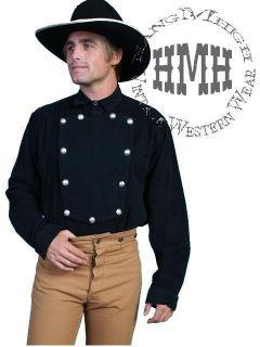 538720 Wahmaker Bib Old Western Cowboy Shirt XL SASS Cavalry