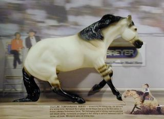 BREYER #478 Hollywood Dun It Dun Reining Horse Champion
