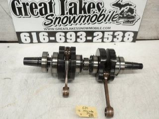 Ski Doo MXZ Summit Rotax 670 Engine Crankshaft Mach 1