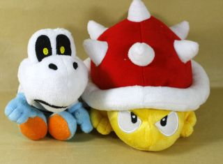 Newly listed DRY BONES SPINY 6 7 SUPER MARIO BROS PLUSH DOLL LOT OF