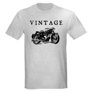 VINTAGE BSA MOTORCYCLE BIKER BIKE CHOPPER RETRO OLD SCHOOL T SHIRT