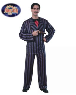 Gomez Addams Family Gothic Mans Suit Adult Costume Mens Size XLarge