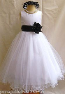 davids bridal flower girl dress in Wedding & Formal Occasion