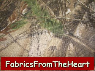 Realtree AP HD Camo Camouflage Netting NET Sheer Lightweight Fabric