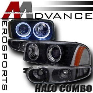 Projector Headlights+Bumper Lights (Fits 2004 GMC Sierra Denali