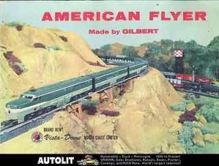 1956 American Flyer Train Brochure