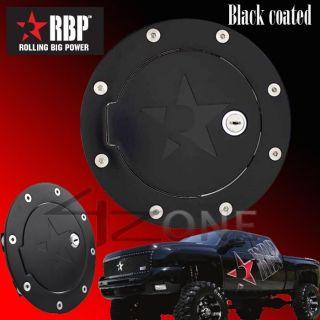 RBP Billet Black Fuel Gas Door lock 02   08 Dodge Ram 1500 03   09 RAM