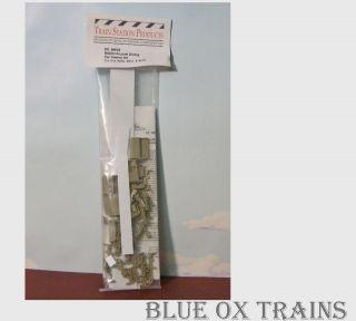Train Station Products HO #9663 Budd Hi Level Dining Car Interior Kit
