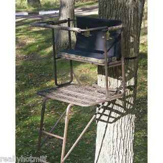 Newly listed Rivers Edge 17 Double Buck Extreme 2 Man Ladder Tree