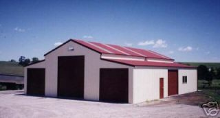 STEEL AMERICAN BARN/CABIN BUILDING KIT