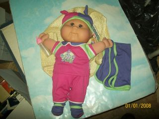CABBAGE PATCH KIDS TRU girl BABY K2 02 LQQKE HAS BIRTH CERT/NAME