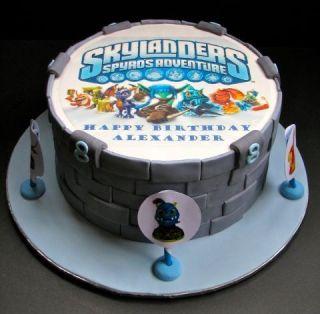 Skylander Portal Cake Topper