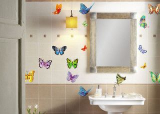 butterfly wall decoration in Home & Garden