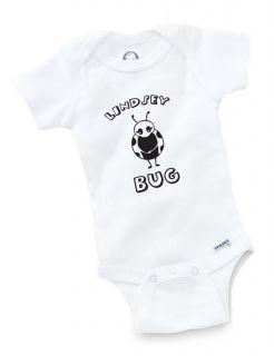 Lady Bug Personalized Onesie Baby Shower Gift Geek Funny Cute Custom