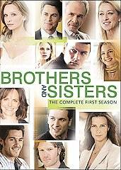 Brothers Sisters   The Complete First Season DVD, 2007, 6 Disc Set