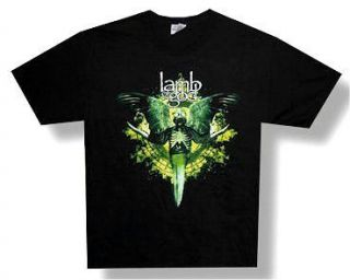 LAMB OF GOD   BLADE GAS MASK BLACK T SHIRT   NWOT ADULT MEDIUM M