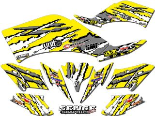 CAN AM CAN AM DS90 DS 90 GRAPHICS KIT ATV STICKERS DECALS DECO 4 FOUR