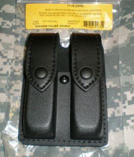 SLS Tactical 2X Handgun Magazine Pouch #77 9mm 40 cal Berreta Taurus