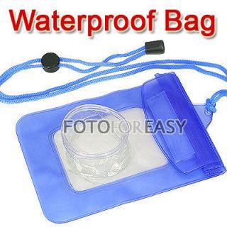 waterproof underwater blue diving dive digital camera case dry bag