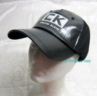 Calvin Klein CK Man Baseball Cap Hat One Size Black NWT