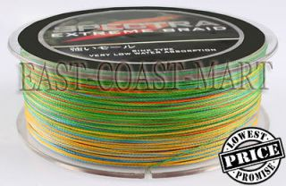 PE DYNEEMA BRAID FISHING LINE 60LB 500M SPECTRA 5 COLOUR 547 YARD