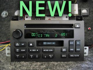 LINCOLN TOWN CAR CD DISC TAPE PLAYER SAT RADIO STEREO 05 06 07 08 09