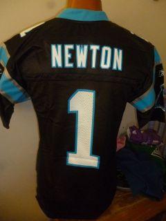 Reebok NFL Mens Carolina Panthers Cam Newton Football Jersey NWT S